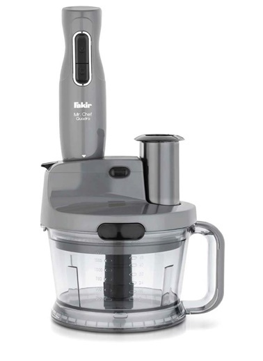 Fakir Mr Cheff Quadro Blender Set Grey 41004271 Renkli